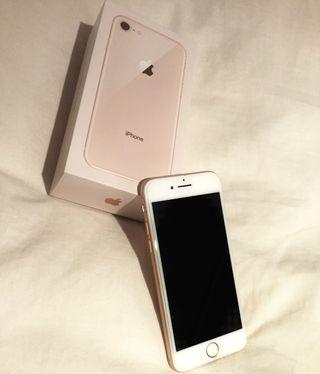 iPhone 8 rosa dorado