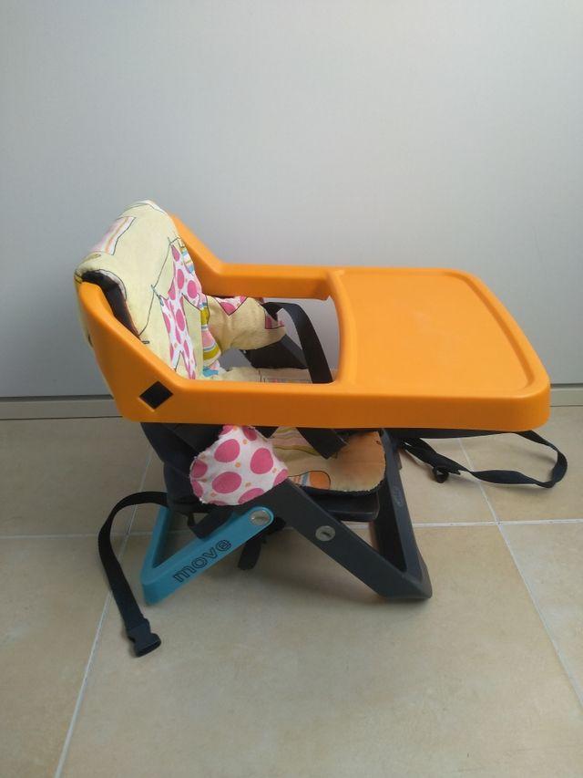Trona bebé portátil plegable