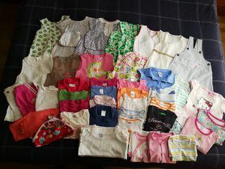 Lote de ropa de niña de 12 a 24 meses