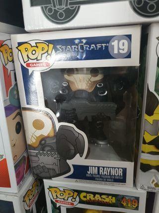 Funko Pop Jim Raynor(negociable) Descatalogado