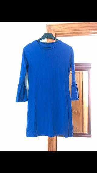 Vestido azul eléctrico 36 Primark