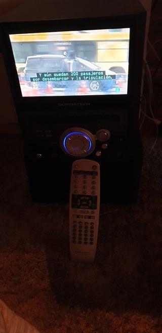 se vende radio DVD televisión tdt