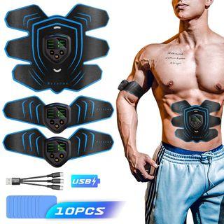 Electroestimulador Muscular Bateria + Recambios