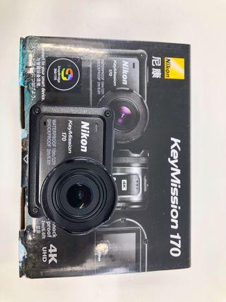 Cámara de Acción Nikon KeyMission 170