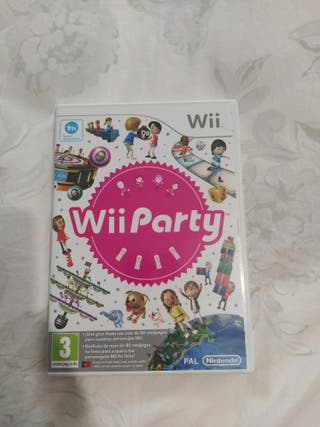 juego wii WII party