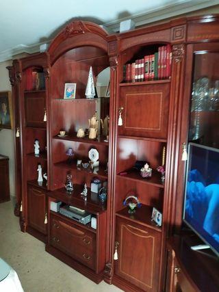 conjunto de mueble salón y mesa TV