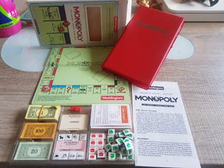 monopoly magnetic pocket edition antiguo