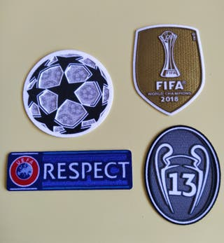 Parches Champions League Real Madrid