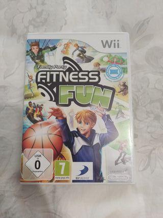 juego wii fitness fun
