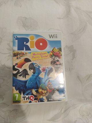 juego wii RIO
