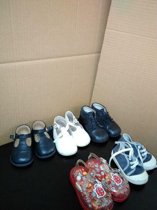 lote, zapatos,niña