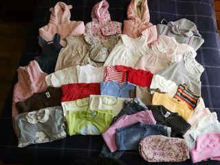 Lote de ropa de niña de 0 a 9 meses
