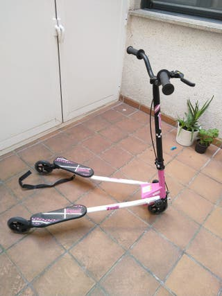 Patinete tres ruedas Decathlon