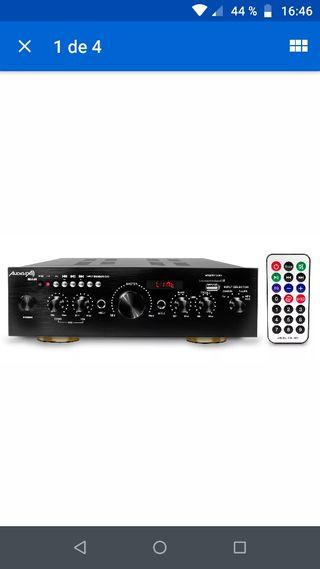 Audibax Miami Amplificador Karaoke Bluetooth 100W
