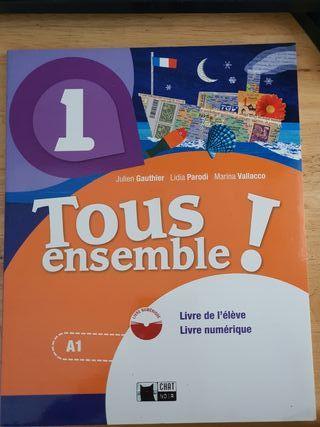 tous ensemble! libro de texto francés A1