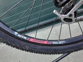 bici descenso giant reign x2