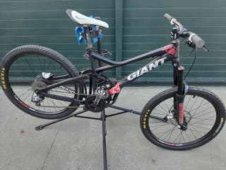 bici descenso giant reign x2