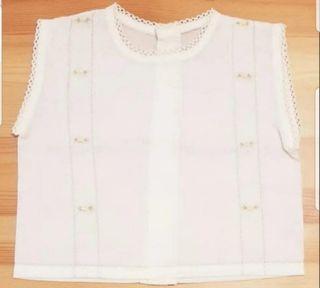 Camisa batista recién nacido