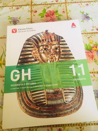 GH 1. Geografía e historia. Libro 1 y 2.