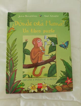 "Libro puzzle infantil ""Donde está Mama?"""