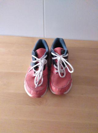 Zapatillas deportivas Kalenji número 35