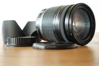 Objetivo Canon 18-200 F3.5-5.6