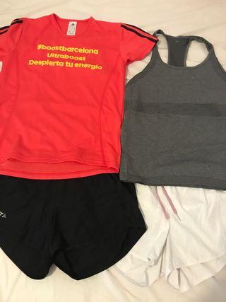 Kit ropa deporte entrenamiento oferta