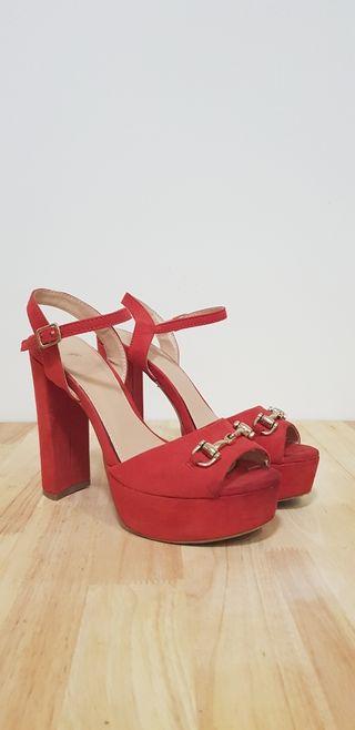 Zapato Fiesta Rojo
