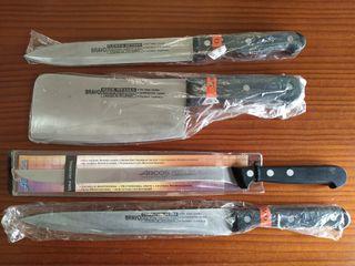 Juego de cuchillos.