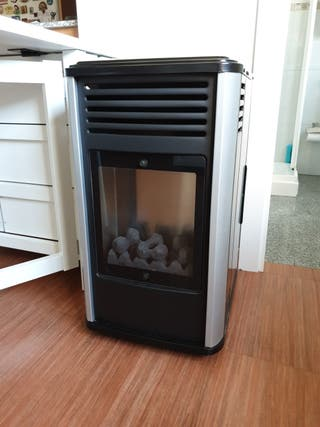 Estufa de gas Fireside Manhattan