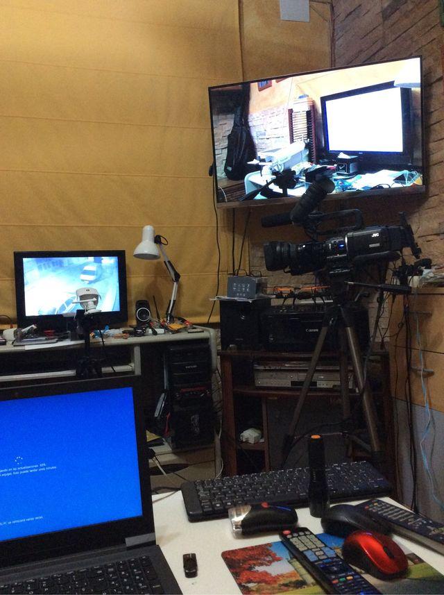 Camara de vídeo profesional jvc dv hd