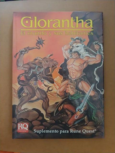 Glorantha. El mundo y sus habitantes. Runequest
