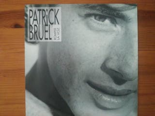 "Disco Vinilo Patrick Bruel ""Romper la voz"" LP"