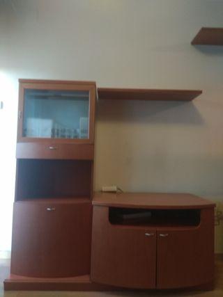 mueble TV +mueble-bar+estantería: todo 50€
