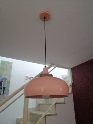 Lámpara de Techo Rosa empolvado