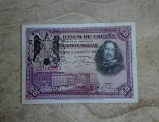50 pesetas de 1928