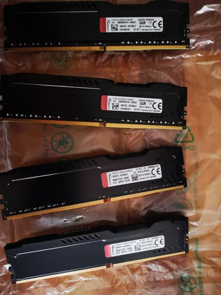 Memoria RAM 4x4 KINGSTON FURY HYPER X DDR4