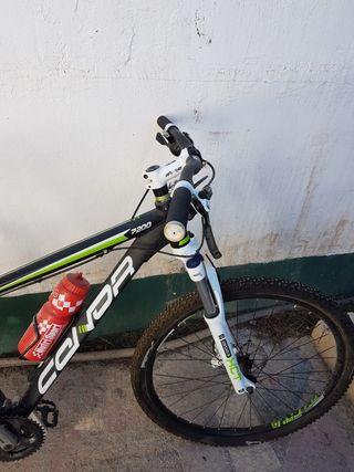 bicicleta como nueva usada 2 veces