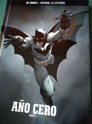 Tomo Batman Año Cero. Tapa dura