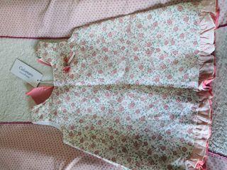 precioso! vestido bebe con etiqueta