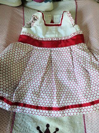 vestido bebe veranito