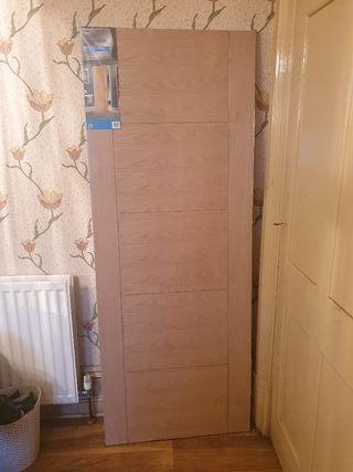 oak interior door