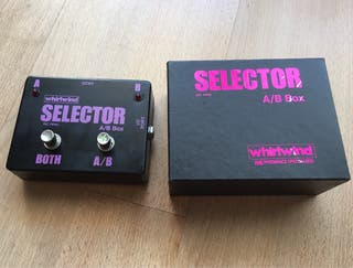 Pedal Guitarra y Bajo A/B Box selector Whirlwind