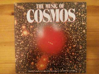 Disco Vinilo The music of cosmos de Carl Sagan. LP