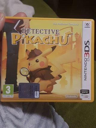 Juego detective Pikachu nintendo 3ds