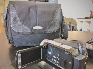 Camara de video sony Full HD + Bolsa Samsonite