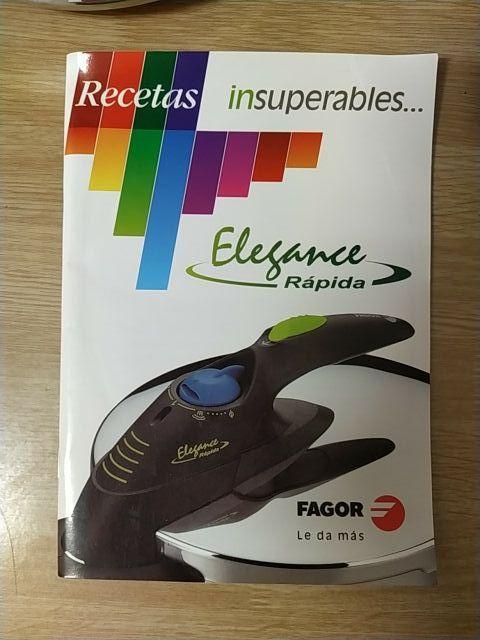 Olla Fagor Elegance Rápida. 6L.