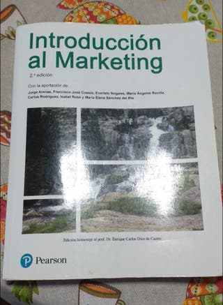 libro introducción al marketing editorial pearson