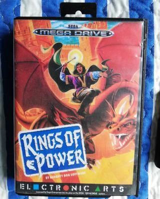 Mega Drive Rings of Power Solo Cartucho