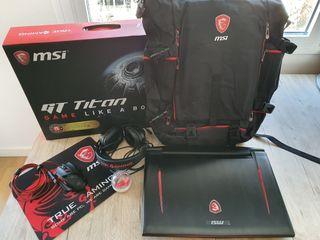 Portátil gaming MSI GT73EVR 7RD con Accesorios